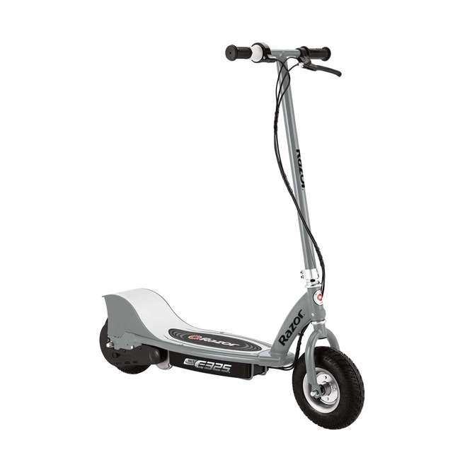 13116312 + 13116397 Razor E325 Electric Motorized Scooters, 1 Silver & 1 Black 1