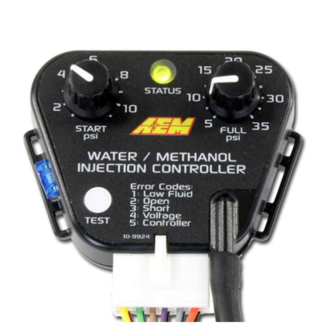 30-3300-U-A AEM Electronics Water Methanol Fuel Injection System Kit, Gas Engines (Open Box) 1