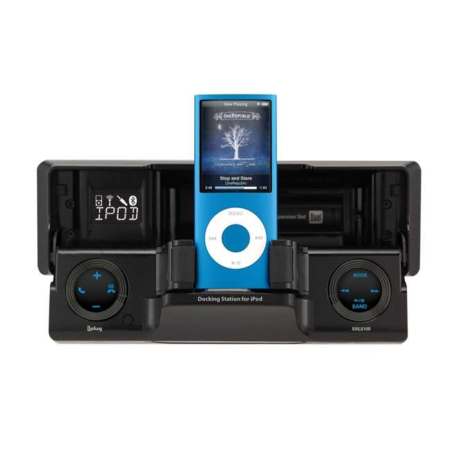 XML8110 Dual XML8110 In-Dash Radio Receiver with iPod/iPhone Docking Station 2
