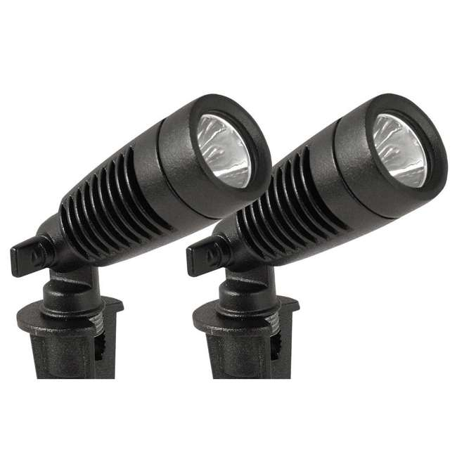 MR-95548 Moonrays Low Voltage 1 Watt Outdoor LED Adjustable Landscape Spot Light (4-Pack) 3