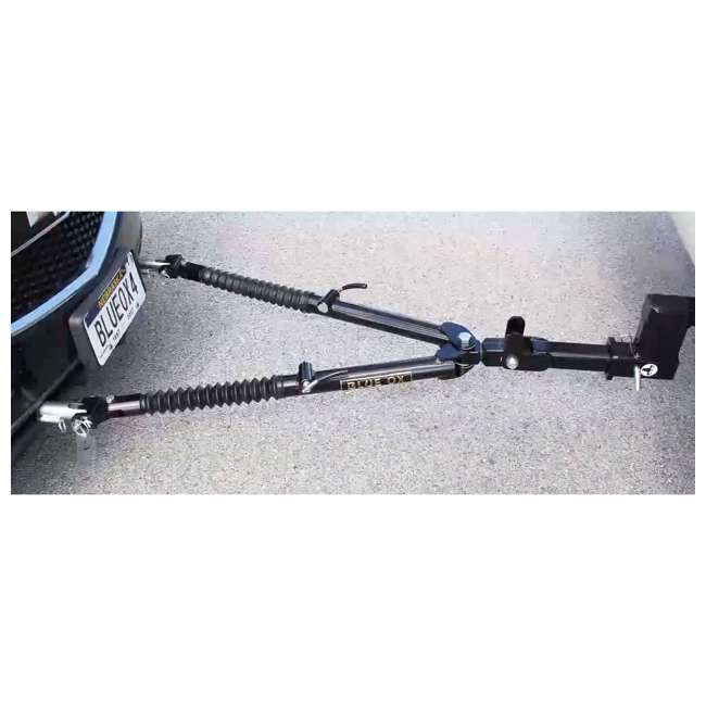 BX4370 Blue Ox BX4370 Ascent 7500 Pound Class III Adjustable 2 Inch Receiver Tow Bar 3