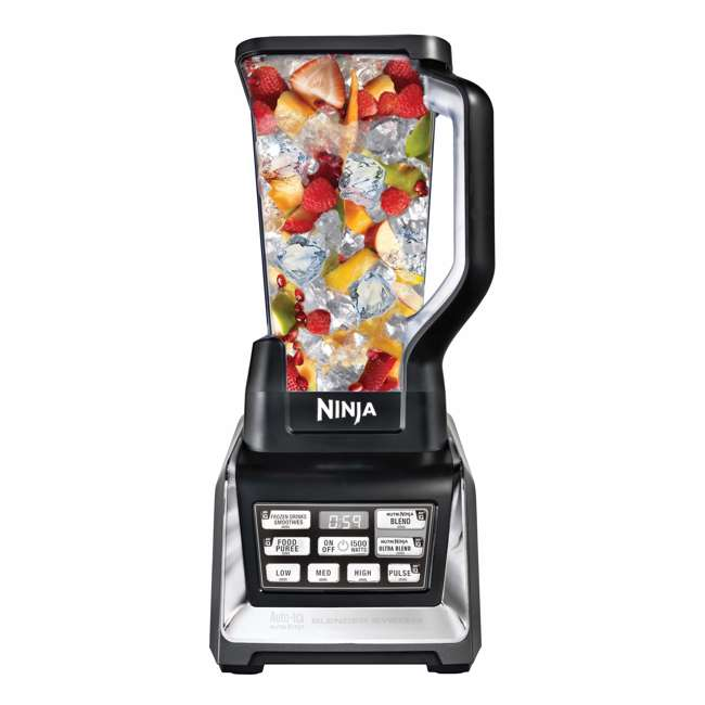 BL682_EGB-RB Nutri Ninja Blender Duo with Auto-iQ 2HP Blender with Food Processor Bowl (Certified Refurbished) 9