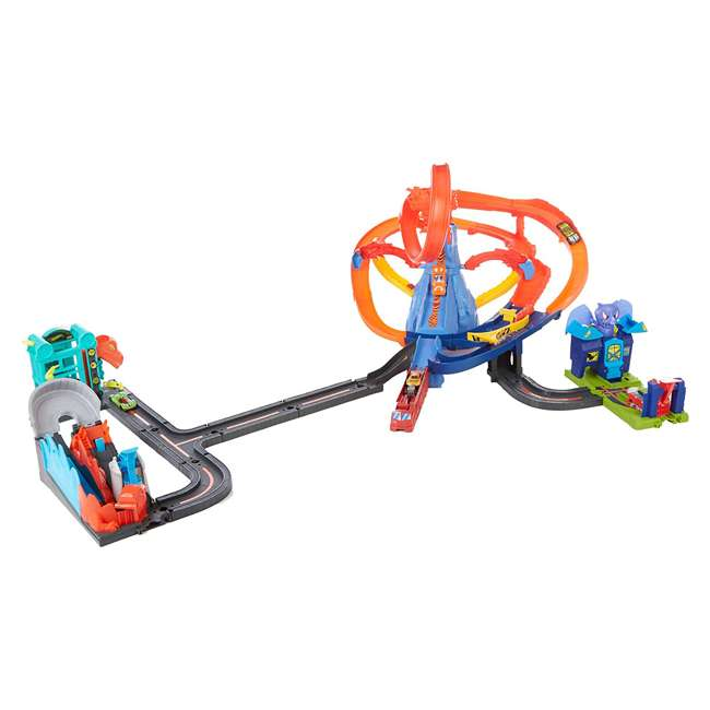 GGR43 Hot Wheels GGR43 Ultimate Nemesis Race Car Rollercoaster Track Play Set Bundle 1