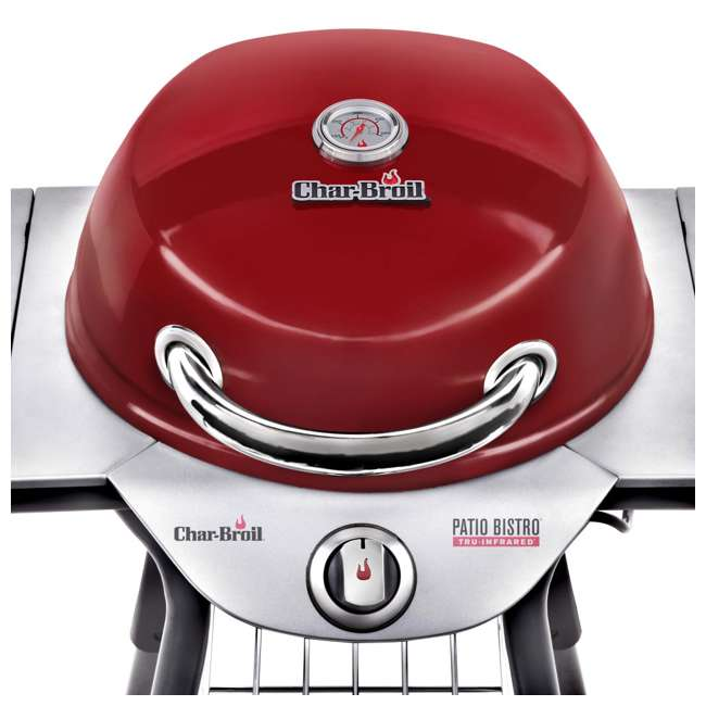 17602047-U-C Char Broil BBQ TRU Infrared Electric Patio Bistro Barbecue Grill Red (For Parts) 3