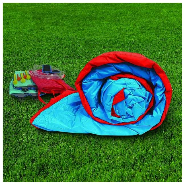 35076 Banzai Slide N Soak Splash Park Inflatable Outdoor Kids Water Park (Open Box) 4