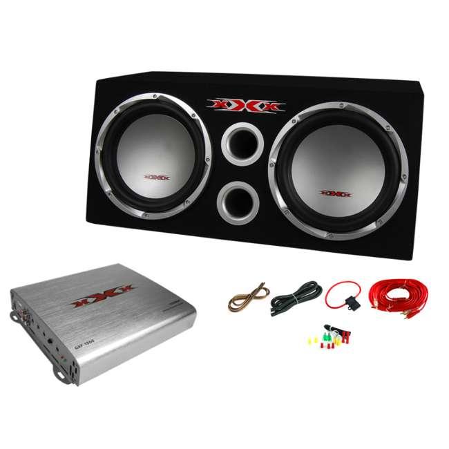 Xxx Xbs 1200s 12 Inch 1300w Subwoofers Amplifier Kit