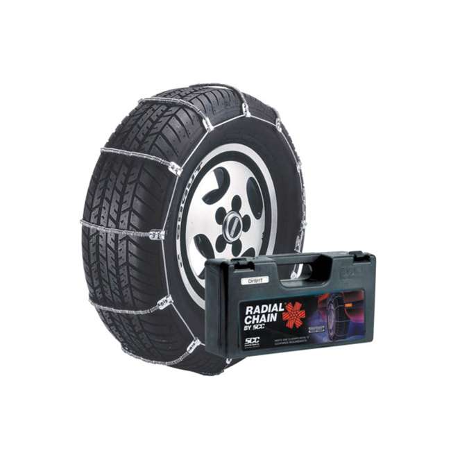 SC1040-U-B Radial Chain Cable Traction Grip Tire Snow Passenger Car Chain Set (Used)