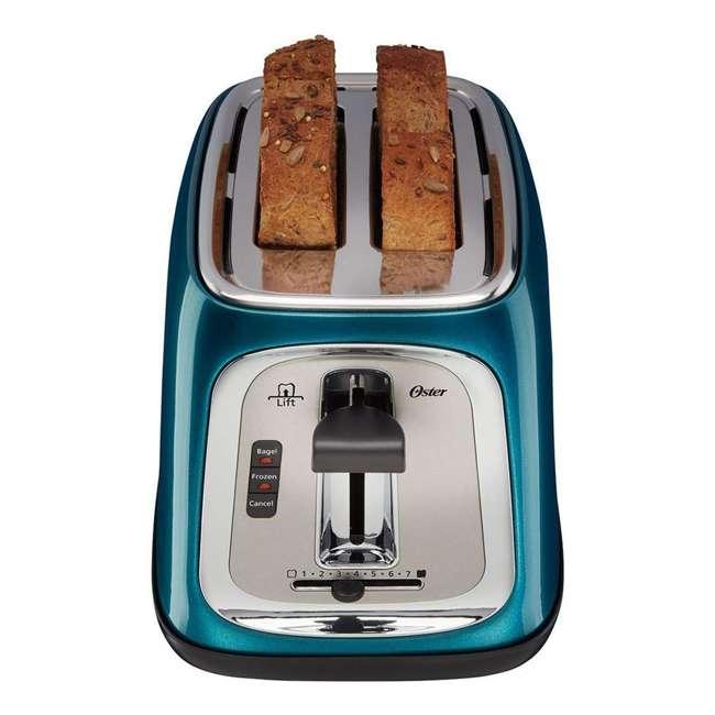 TSSTTRJB0T Oster TSSTTRJB0T 2-Slice Toaster with Extra Wide Slots Metallic, Turquoise Blue 1