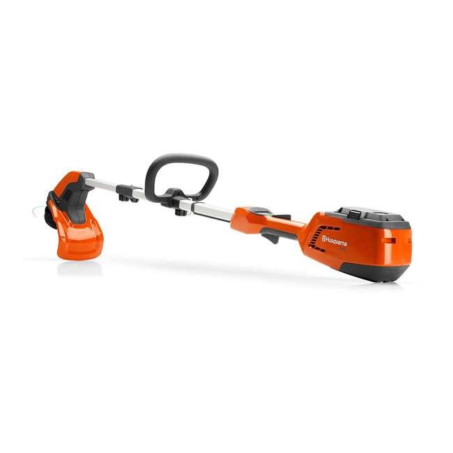 HV-TR-967098702 Husqvarna 115iL 36.5 Volt Straight Shaft Battery Powered String Trimmer, Orange