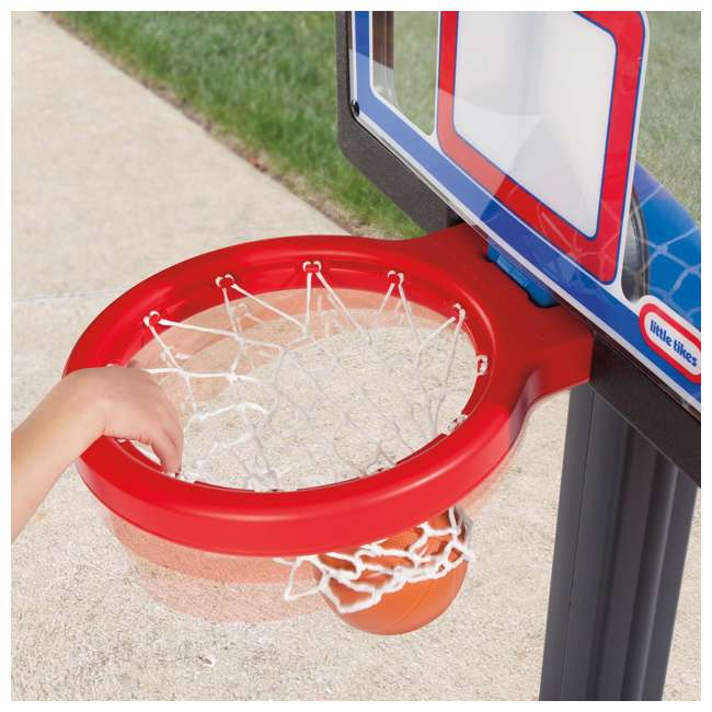632594-U-C Little Tikes Play Pro Kids Play Toy Portable Basketball Hoop Set (For Parts) 3