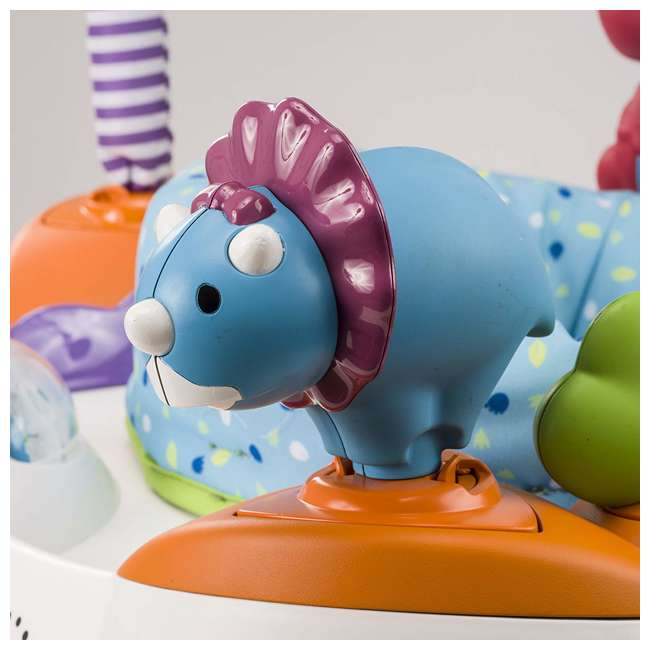 EVEN-61611769-U-A Evenflo Exersaucer Fast Fold & Go D is for Dino Baby Bouncer (Open Box) 7