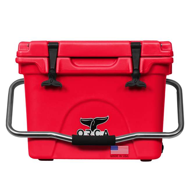 ORCRE/RE020 ORCA 20-Quart 4.16-Gallon Ice Cooler, Red