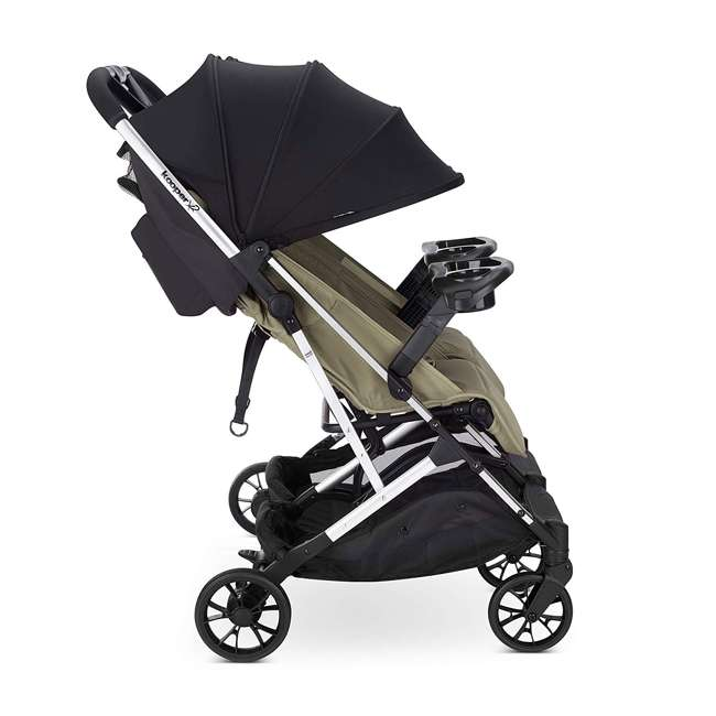 8232 + 9139 Double Folding Adjustable Recline Stroller w/ Ventilated Rain Cover 3