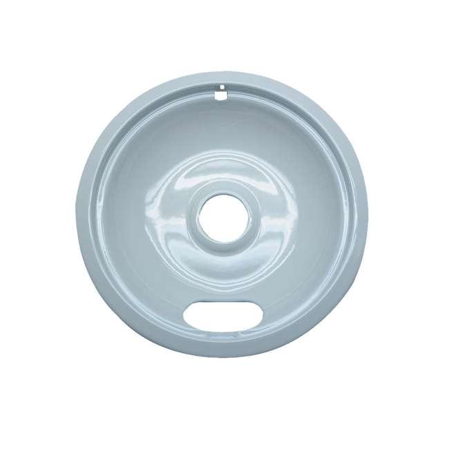 12 x P102W Range Kleen Style A Porcelain Drip Bowl, White (12 Pack) 1