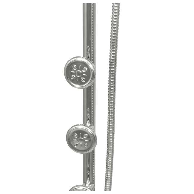 PULSE-1028-CH-2 Pulse Lanikai Multi Function 3 Head Shower System w/ Full Body Drench, Chrome 3