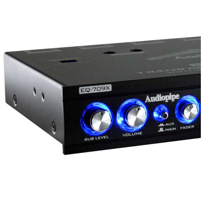 4 x EQ-909X Audiopipe EQ-908X 9-Band Parametric Car Audio Equalizer (4 Pack) 2