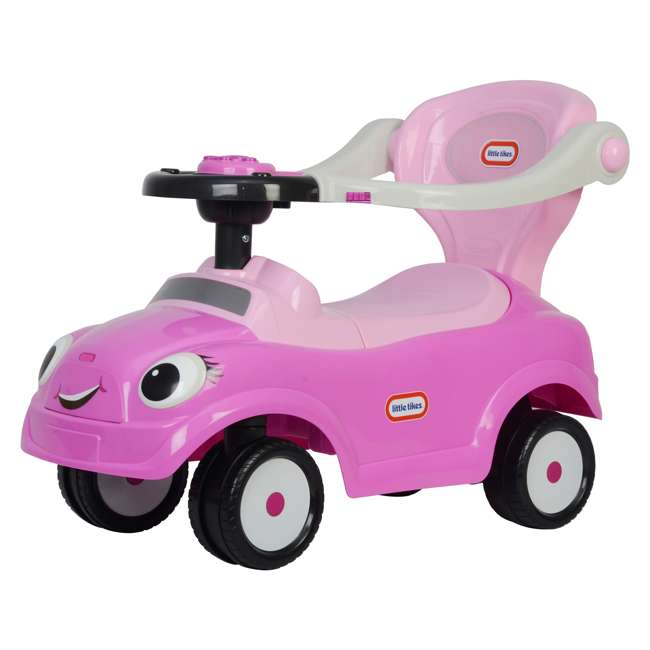 3 in 1 Little Tike - Pink Best Ride On Cars Baby 3 in 1 Little Tikes Push Car Stroller Ride On Toy, Pink 1
