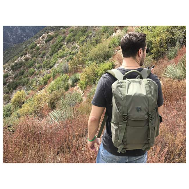CPG-BP-SARC-L-S Cannae Pro Gear Nylon 34-Liter Sarcina Rally Pack Backpack, Sage 2