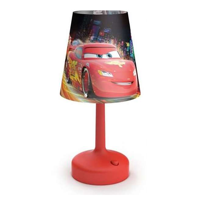 PLC-7179632U0 Philips Disney Cars Kids Table Lamp with Shade (2 Pack) 5