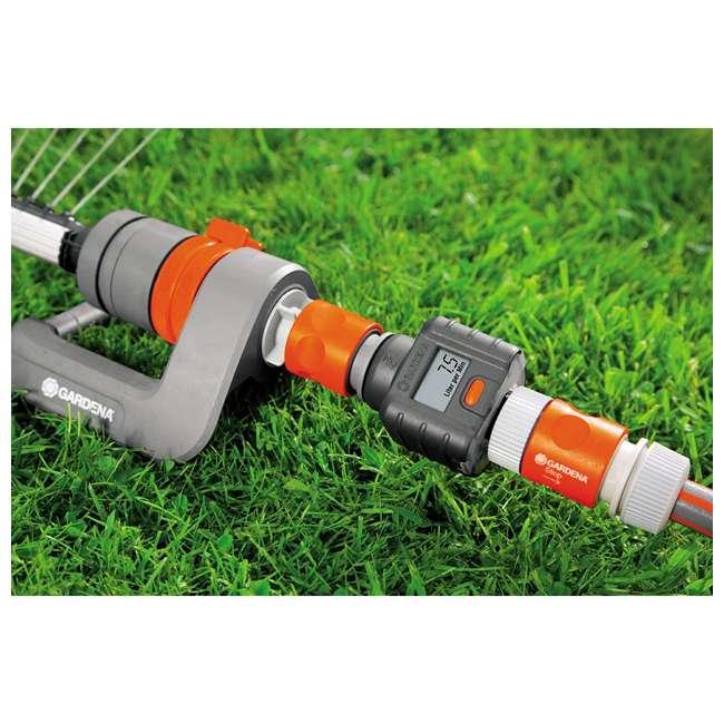 GARD-9188-U Gardena Water Smart Flow Meter Water Timer 4