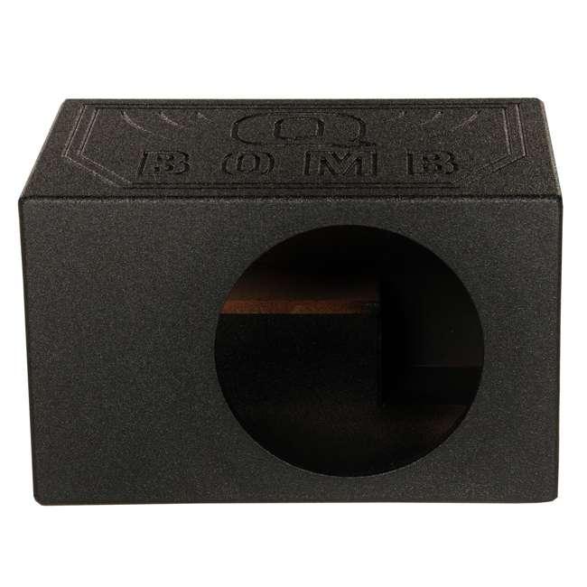 QBOMB10VL-SINGLE Q-Power QBOMB10VL Single 10-Inch Vented Subwoofer Box  (2 Pack) 3