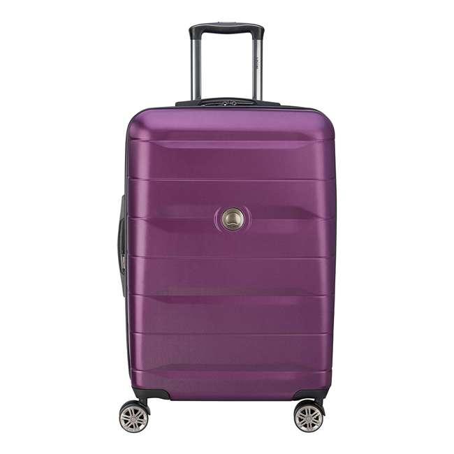 40386582008 DELSEY Paris Comete 2.0 24-Inch Expandable Spinner Upright Travel Bag, Purple