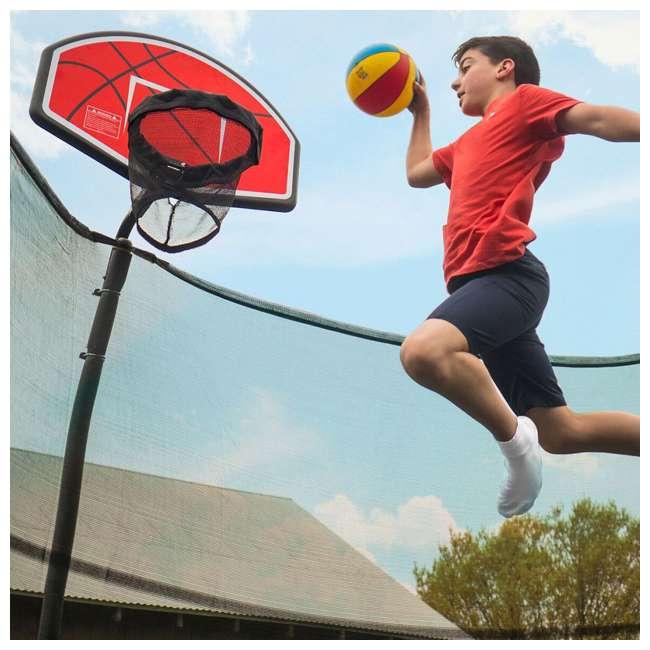 JumpKing Trampoline Basketball Hoop And Ball Set : ACC-BSKU