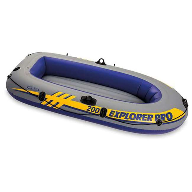 58356WL-U-A Intex Explorer Pro Youth Boat Raft (Oars/Pump Not Included)(Open Box) (2 Pack)