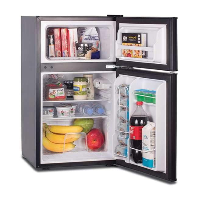 CCRD32B Commercial Cool Compact Portable 2-Door Refrigerator/Freezer (Black) 1