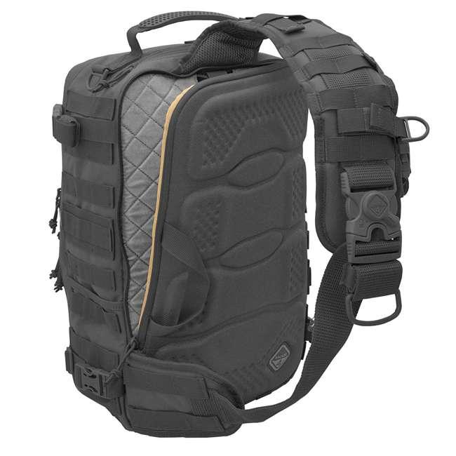 BKP-SWTC-BLK Hazard 4 Tactical Gear Sidewinder Full Sized Laptop Sling Pack Backpack, Black 3