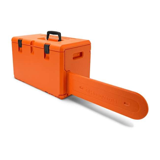 HV-CS-967651104 Husqvarna 450 II E Series 50.2cc 18 Inch Gas Powered Chainsaw with Powerbox Case 2