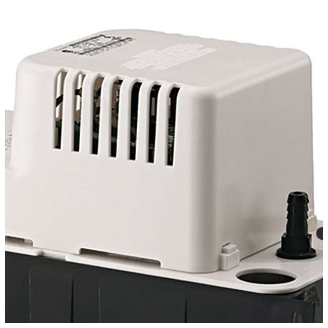 10 x LG-554425 Little Giant 1/30 HP 1/2 ABS Gallon Tank Condensate Removal Pump (10 Pack) 2