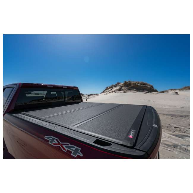 """448130-BAK BAK BAKFlip MX4 Hard Folding Tonneau Cover for 2019 Chevy Silverado 5' 8"""" Bed 11"""