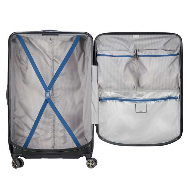 "40207998700 DELSEY Paris Cruise Lite Hardside 2.0 Carry On, 25"", & 29"" Suitcase Luggage Set 4"