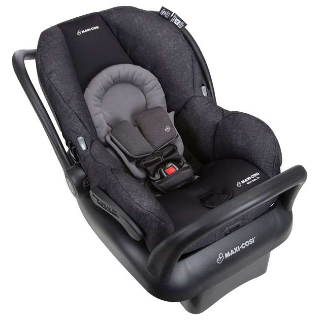 IC302ETKA Nomad Mico Max 30 Infant Rear Facing Car Seat, Black 2