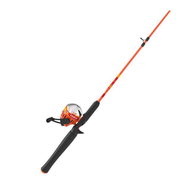 SPLSC602MB Zebco Splash Spincast 4-Piece Fishing Rod and Reel Combo 4