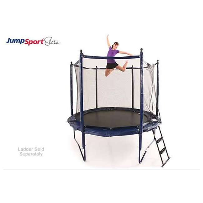 UNE-U-11726-01 JumpSport Elite 10 Foot StagedBounce Technology Trampoline System with Enclosure 2