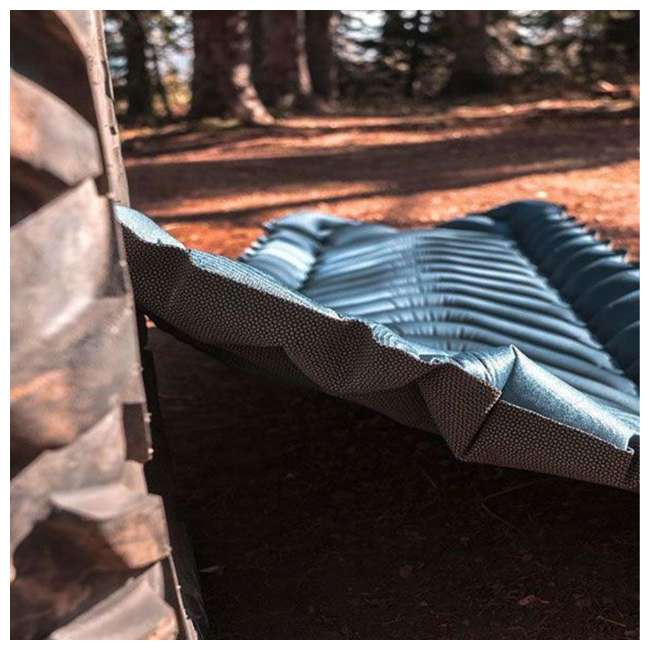06AVTL01C Klymit Armored V 2 Rugged Superfabric Lightweight Inflatable Sleeping Pad, Blue 5