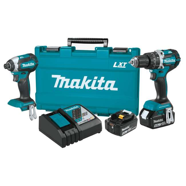 3 x XT269M Makita Brushless 4.0 Ah Cordless 2-Piece Combo Kit (3 Pack) 1