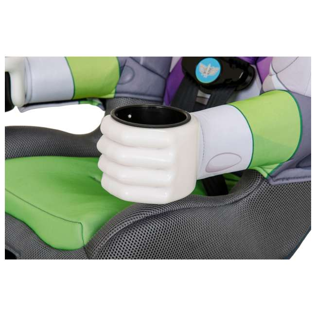 KE-3001BUZ KidsEmbrace Disney Buzz Lightyear Combination Harness Booster Car Seat (2 Pack) 9