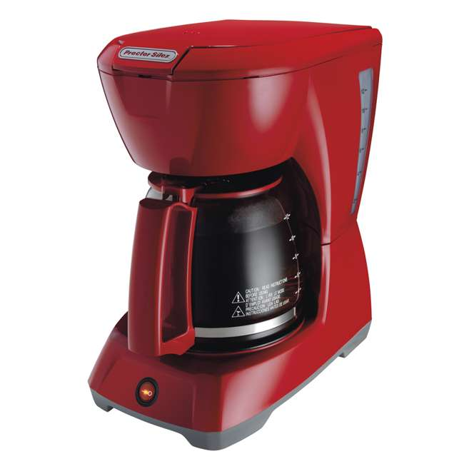 43603 Proctor Silex 43603 12-Cup Coffee Maker | Red 3