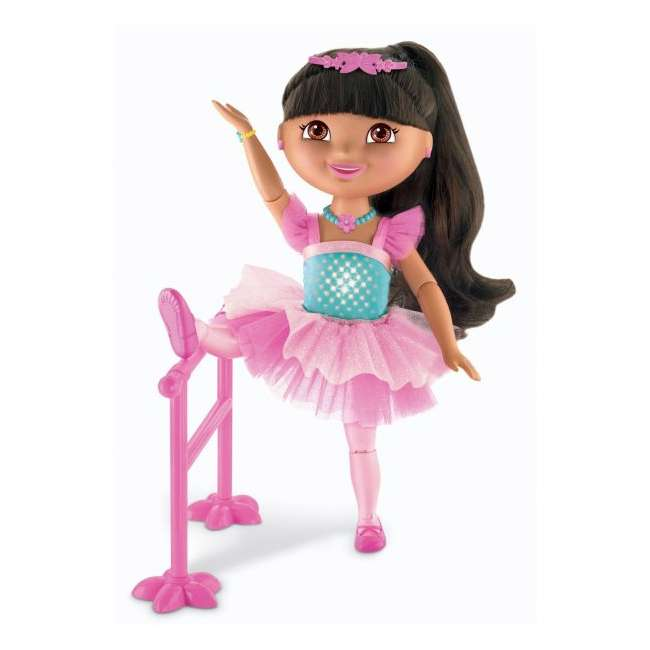 V4437 Fisher Price Dance & Sparkle Dora the Explorer Ballerina 1