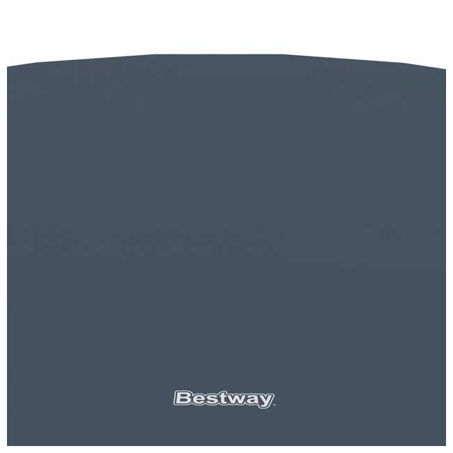 6 x 58039E-BW-U-A Bestway 18' Round PVC Pool Debris Cover for Steel ProTM Frame (Open Box)(6 Pack) 4