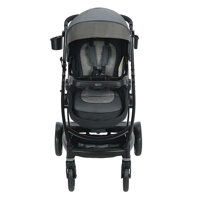 2065103 Graco UNO2DUO Single Folding Reclining Convertible Baby Travel Stroller, Bryant 1