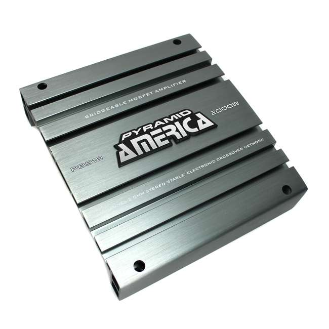 PB918 Pyramid PB918 2000W 2 Channel Amplifier (2 Pack) 3