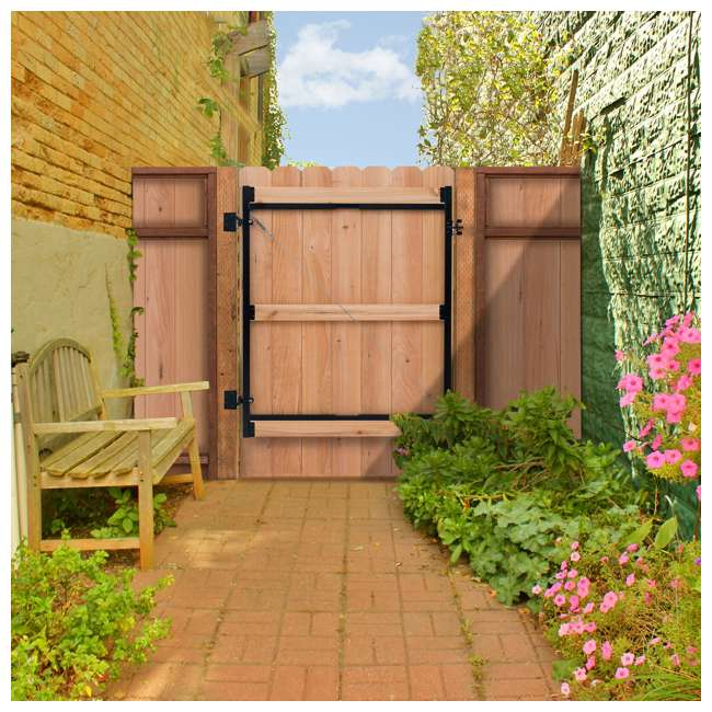 """AG36-3 Adjust-A-Gate Gate Building Kit, 36""""-60"""" Wide Opening Up To 7' High 5"""