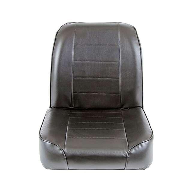 44801-SMITTYBILT Smittybilt Front Stationary Low Back Bucket Seat, Black 2
