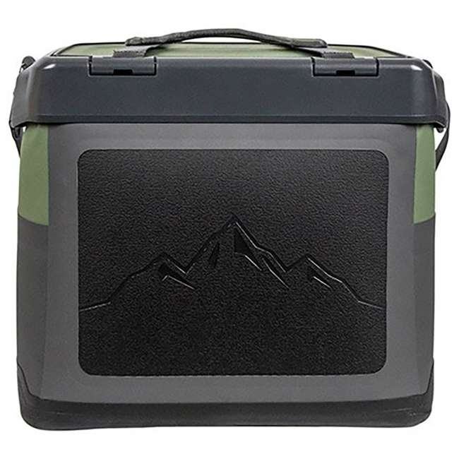 77-60673 OtterBox Trooper IP66 Leakproof Seal Portable 12 Quart Insulated Cooler, Green 4