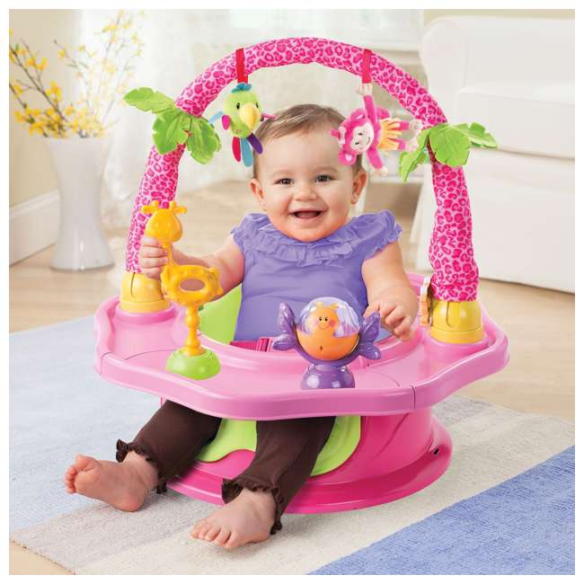 13305C Summer Infant 3-Stage SuperSeat Deluxe Giggles Island Booster and Activity Seat 1