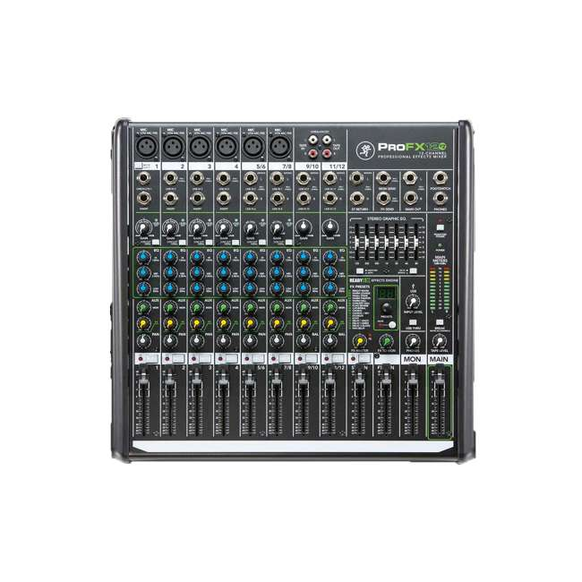 ProFX12v2-OB Mackie ProFX12v2 Focused Live Sound 12 Channel Effects Mixer with 6 Preamps 5